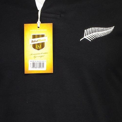 camisa retrômania all blacks 1987 rugby