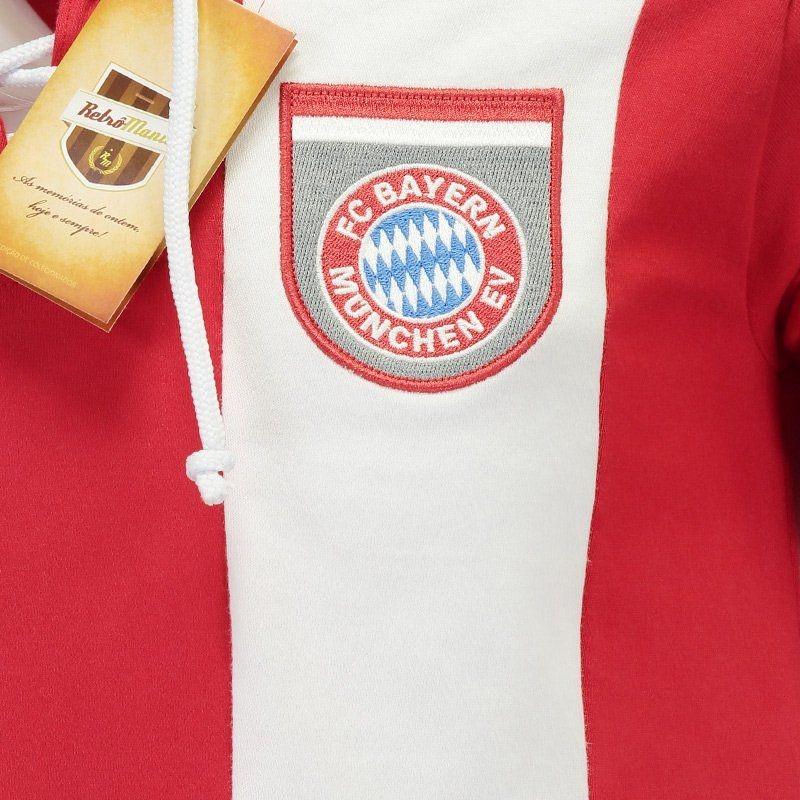 03ba383836 Camisa Retrômania Bayern De Munique 1969 - R$ 84,90 em Mercado Livre