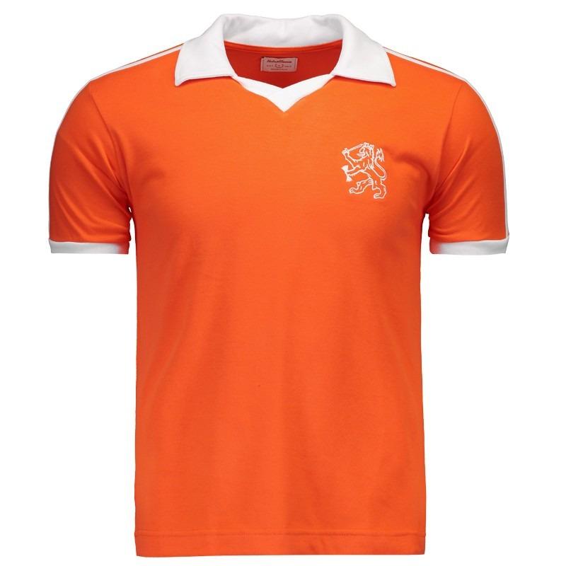 646741a99 Camisa Retrômania Holanda 1990 - R$ 74,90 em Mercado Livre