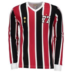 ef48bc457a21 Camisa Sao Paulo Manga Longa Times Brasileiros Masculina - Camisas de  Futebol com Ofertas Incríveis no Mercado Livre Brasil