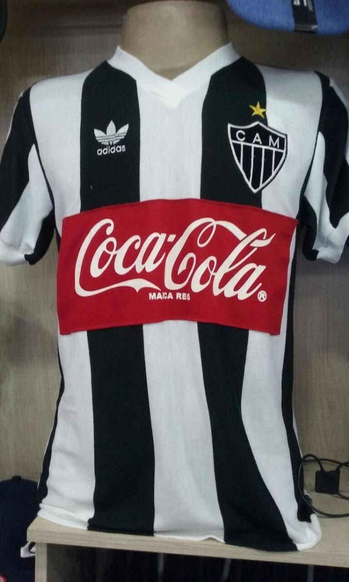 11399d90eb Camisa Retro Atletico Mg adidas Coca Cola 1989 - R  120