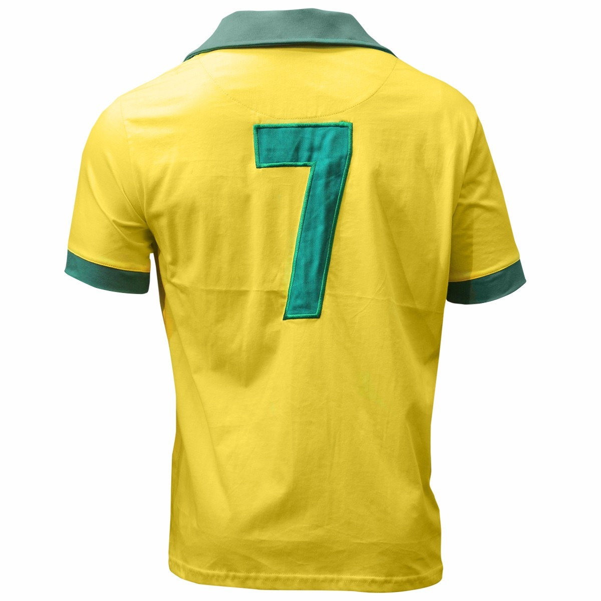 fc3548ce3 camisa retro brasil 1962 amarela. Carregando zoom.