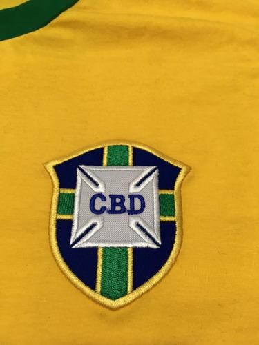 camisa retro brasil 1970