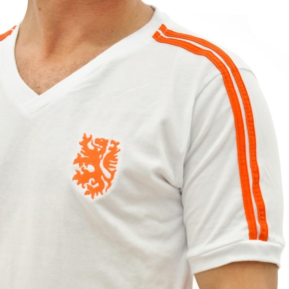 camisa retro da holanda de1974 laranja mecânica uniforme 2. Carregando zoom. 61ee29c8aaf7f