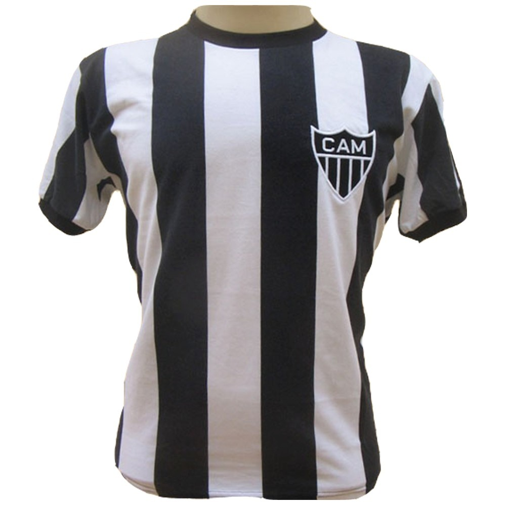000f8e5bc1 Camisa Retro Do Atletico Mineiro Mg 1971 Listrada  9 - R  79
