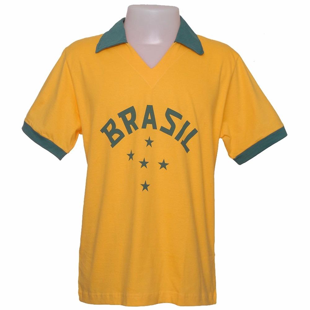 297cf08a0b camisa retro do brasil 1952 olimpiadas seleção brasileira 52. Carregando  zoom.