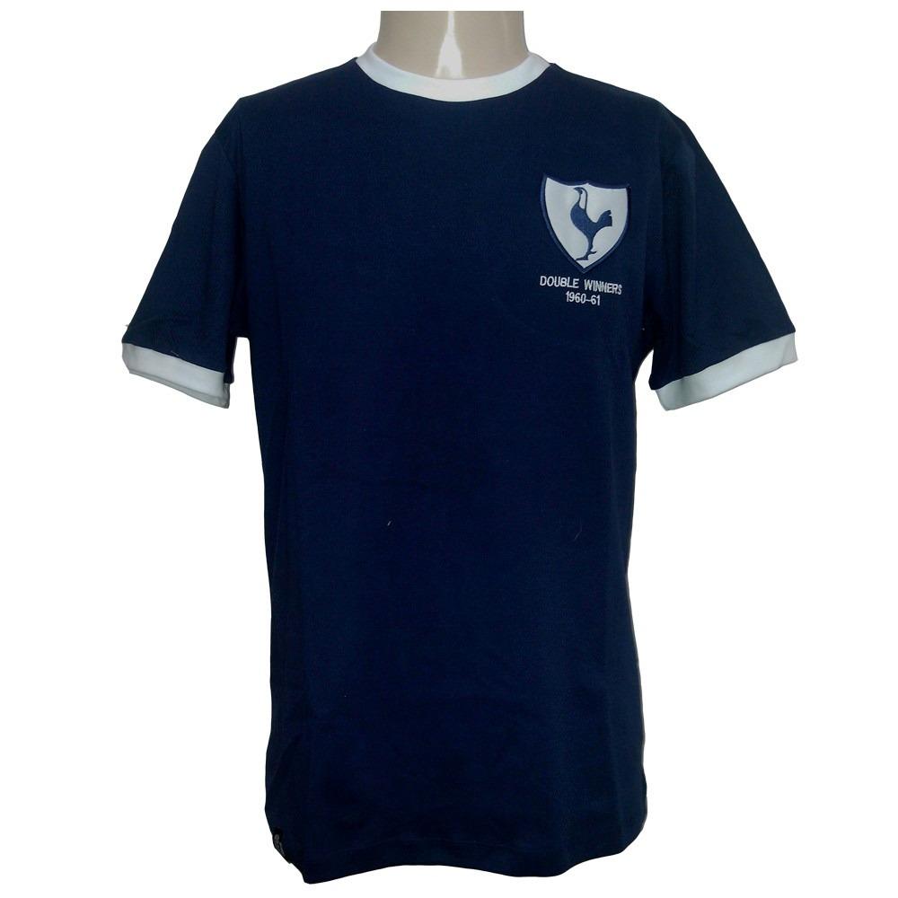 camisa retro do tottenham da inglaterra 1961 62. Carregando zoom. 306476d76a8b4