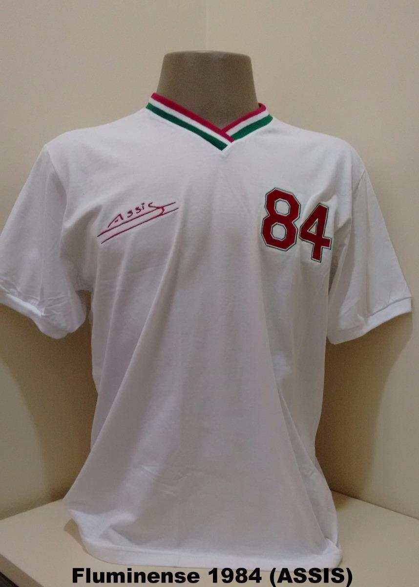 camisa retro fluminense 1984 (assis). Carregando zoom. 1049a1df87de6