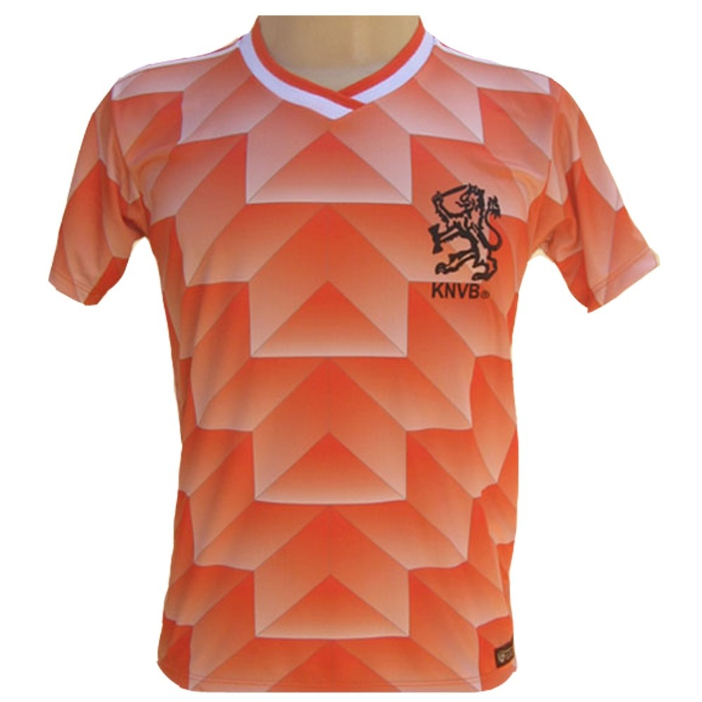Camisa Retro Holanda 1988  12  Van Basten Eurocopa 88 - R  78 efa7480f6150c