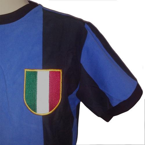 camisa retro inter de milão 1965 bicampeão uefa champions