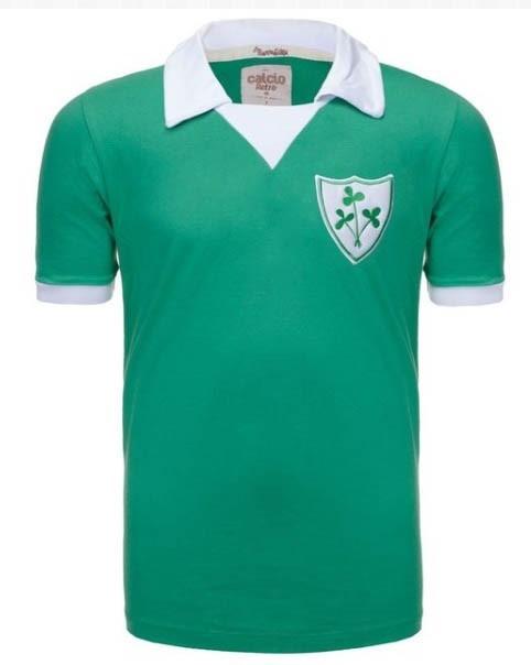 1b0f29f103e4d Camisa Retro Seleção Da Irlanda Década De 70 - R  59