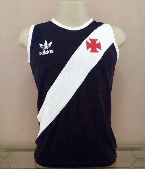Camisa Retro Vasco 84 Pta Regata P R O N T A . E N T R E G A - R  98 ... c0fea74e42570
