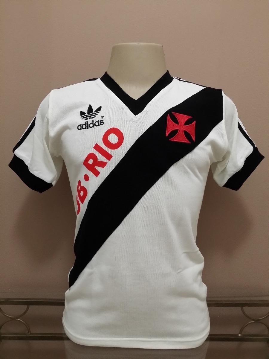 Camisa Retro Vasco 86-87 Bca 3 B. R I O - Pronta Entrega ! - R  88 ... e9834a0374f89