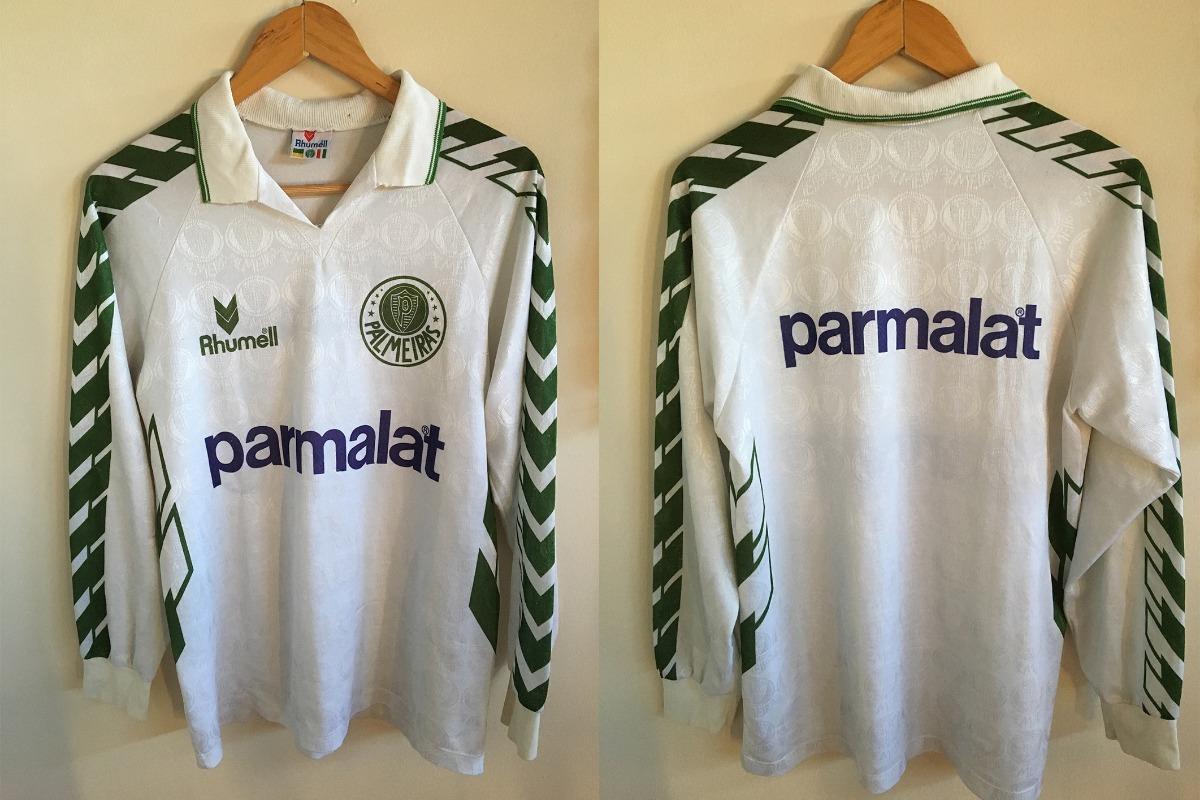 f43cacc5735b4 Camisa Rhumell Palmeiras Rara Da Época Do Vôlei - R  189