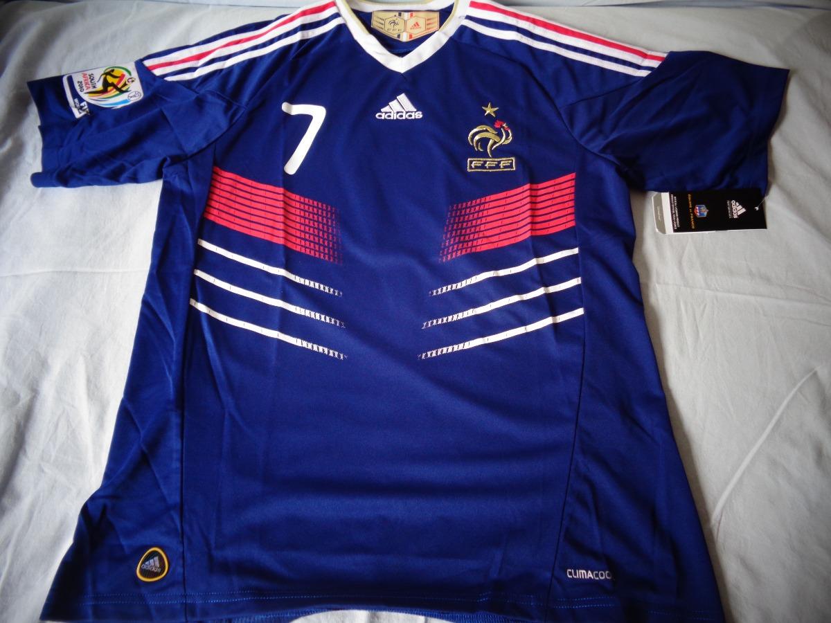 b4b01baa85e71 camisa ribery seleção frança copa do mundo 2010. Carregando zoom.