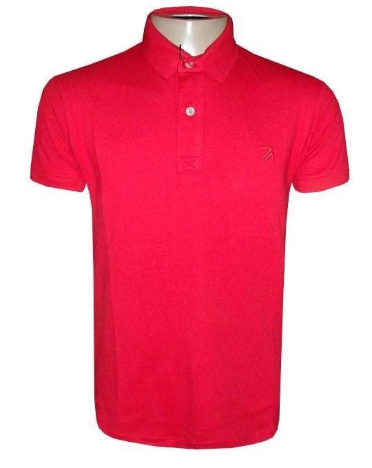 04582fd2e Camisa Ricardo Almeida Gola Polo Camiseta Vermelha - R  105