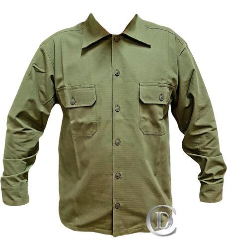 camisa ripstop manga larga tela antidesgarro