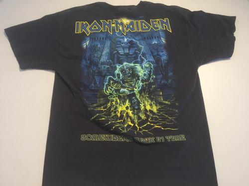 camisa rock iron maiden l 3