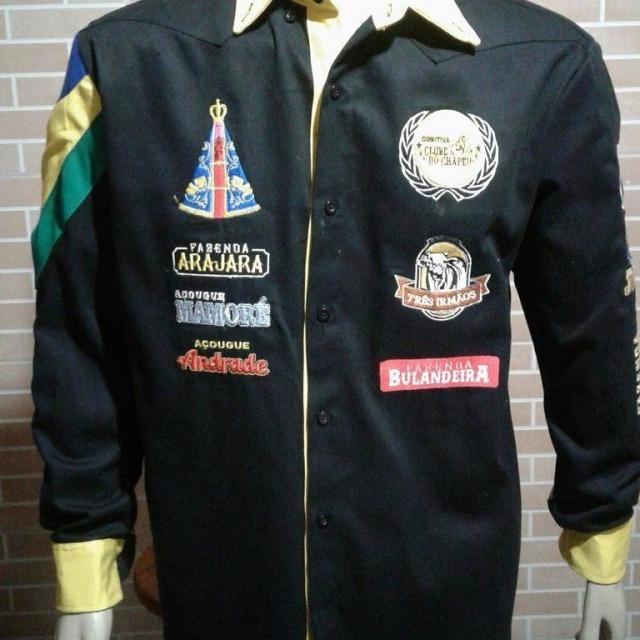 4e0c8a16da82e Camisa Rodeio E Comitiva 100% Bordado