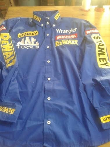 Camisa Rodeio Stanley Dwalt Brahma Wrangler Az Royal - R  225 1898fab0509