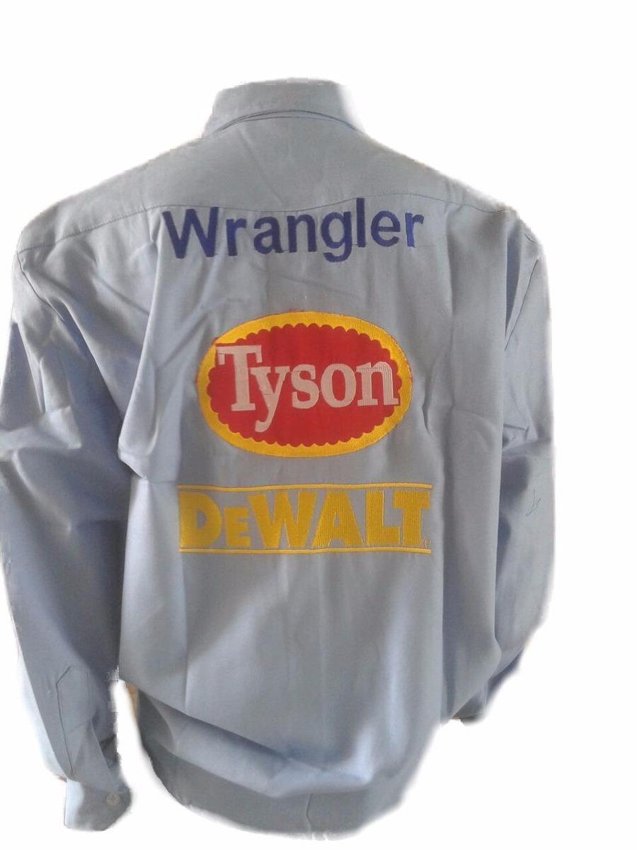 Camisa Rodeio Tyson Jack Daniels Dwalt Bordado Costa - R  185 d765a8fbe34
