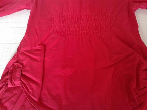 camisa roja talle s