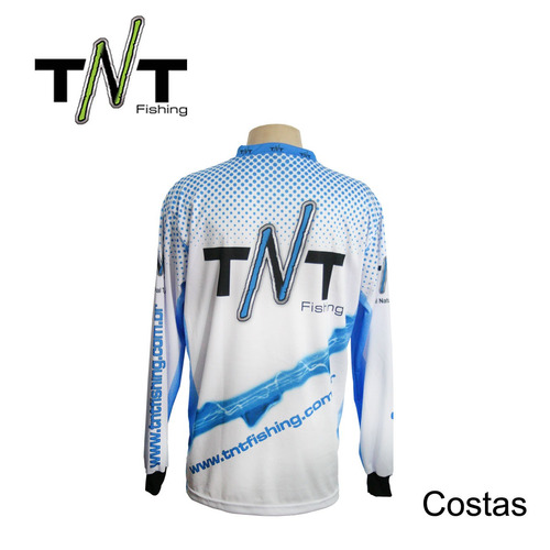 camisa rolabo azul | tnt