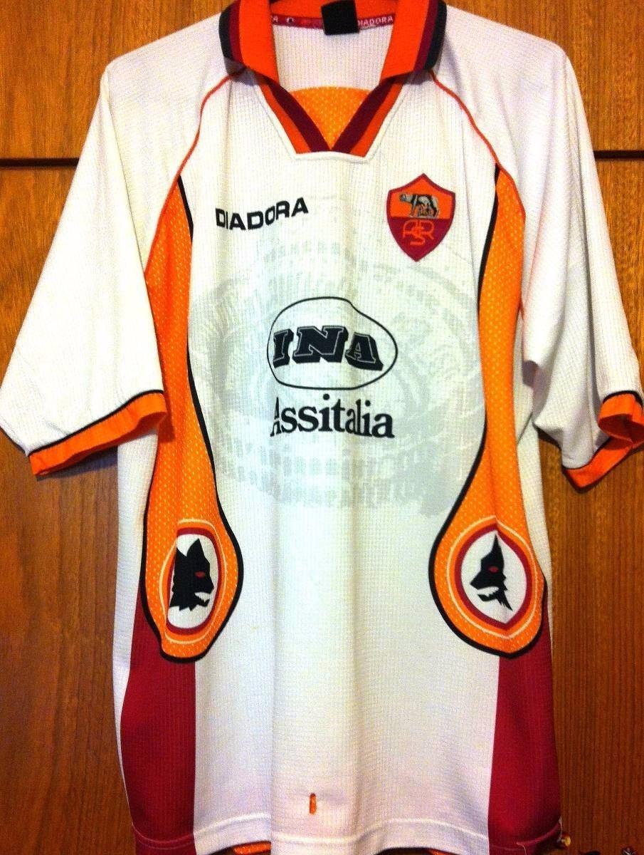 68ee86655e Camisa Roma 1996 97 Totti  10 Diadora Raríssima - R  429