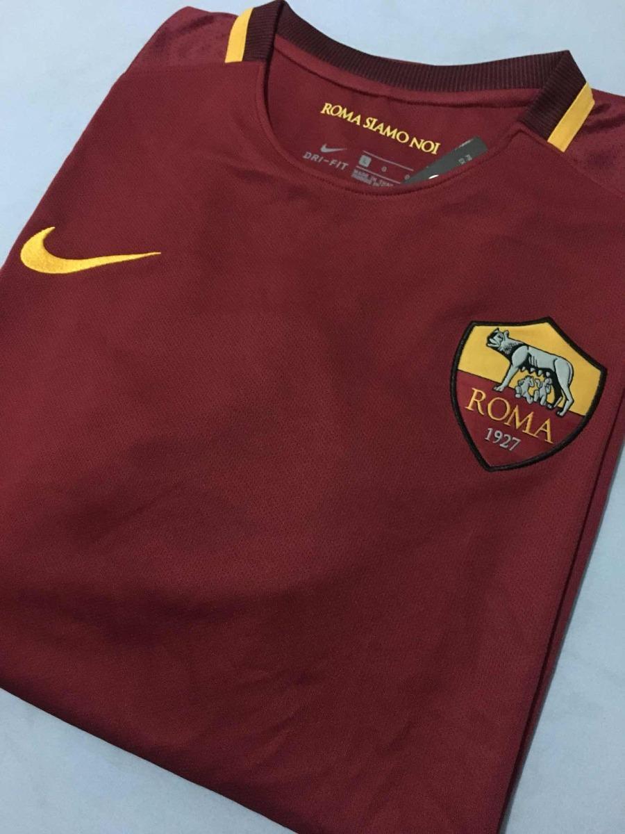 b1408e869d camisa roma 2017 18 home (tam g) pronta entrega. Carregando zoom.