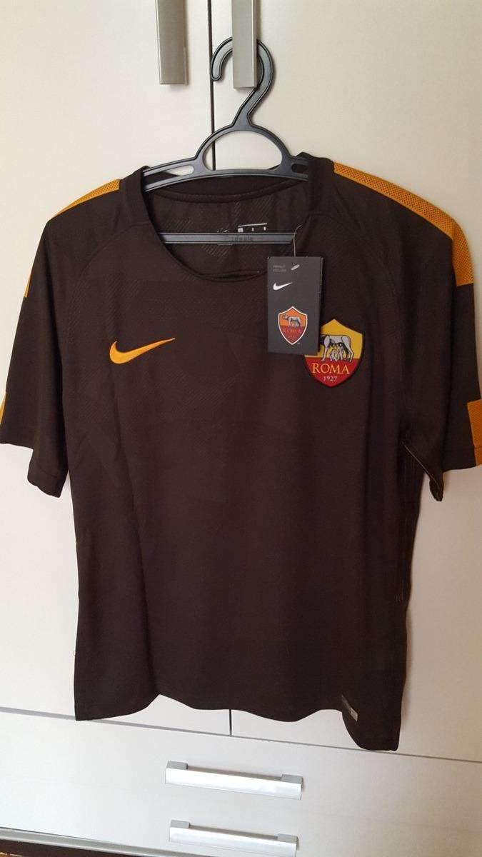 camisa roma 3 - totti 10 - nike. Carregando zoom. d84a957f2a3e5