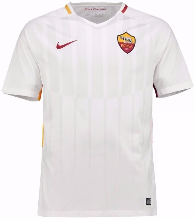 Camisa Roma Away - Uniforme 2 - 17 18 - Frete Grátis - R  110 cec84b8ac7f48