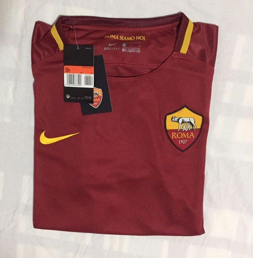 5aa159facc 700f7faced7fdf  camisa roma home 17 18 s n° nike torcedor masculina -  vinho. Carregando zoom.