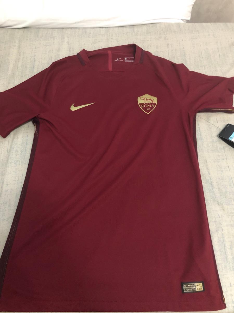 89b3d7e9646a1 Camisa Nike Roma 2016 17 - Edição Comemorativa Derby De Roma - R ...