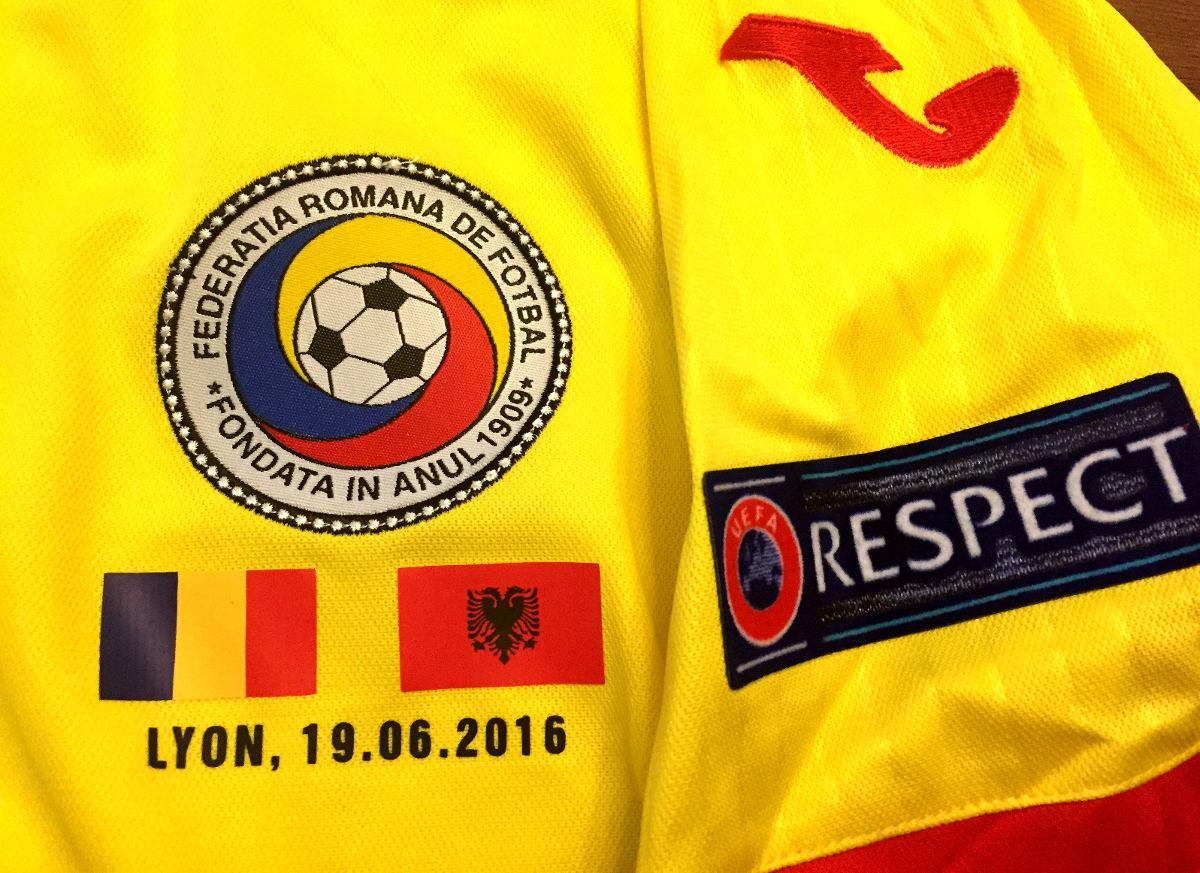c6b0fdbef4 camisa romênia euro 2016 jogo contra albânia completa. Carregando zoom.