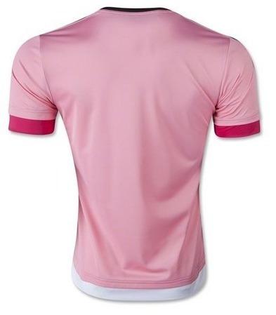 Camisa Rosa Juventus 2015-16 Frete Grátis - R  199 e41ed37ba2782