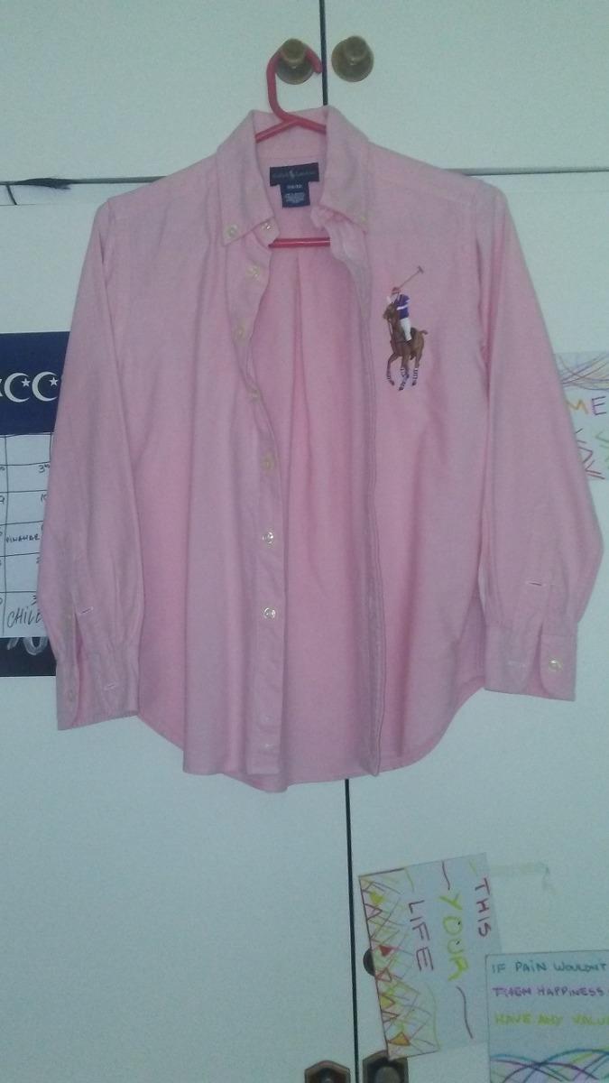 camisa rosa ralph lauren. Cargando zoom. 06d630bde47
