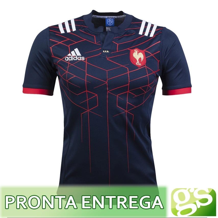 554ae43acfefc camisa rugby frança home 16 17 - seleção francesa de rugby. Carregando zoom.