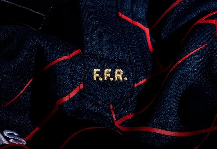 camisa rugby frança home 16 17 - seleção francesa de rugby. Carregando zoom. 38dff14e2ef54