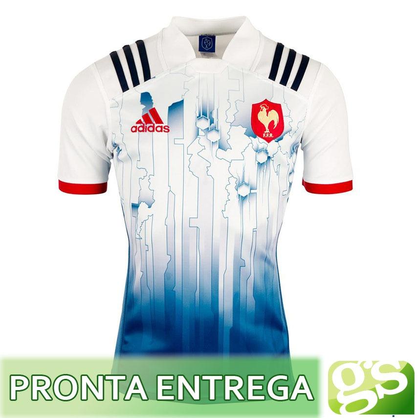 d7f8d8b659 camisa rugby frança home 7 2017 - seleção francesa all bleus. Carregando  zoom.
