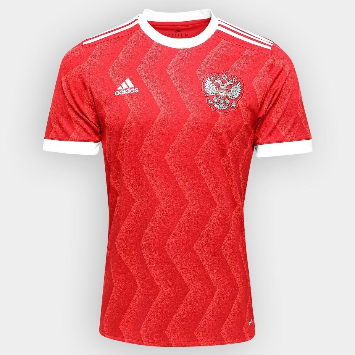 f2b76e71c0 camisa russia adidas 2018. Carregando zoom.