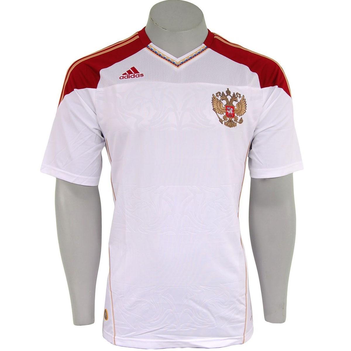 a6d4b66d99fda camisa russia adidas copa 2010 africa branca nova. Carregando zoom.
