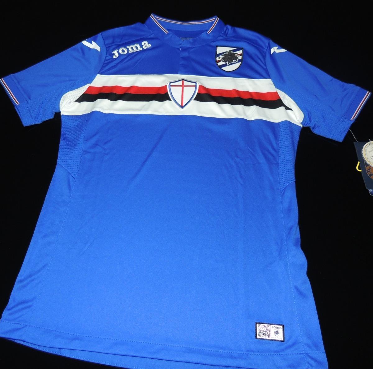 camisa sampdoria home 2016 tam. p. Carregando zoom. 644be3a390987