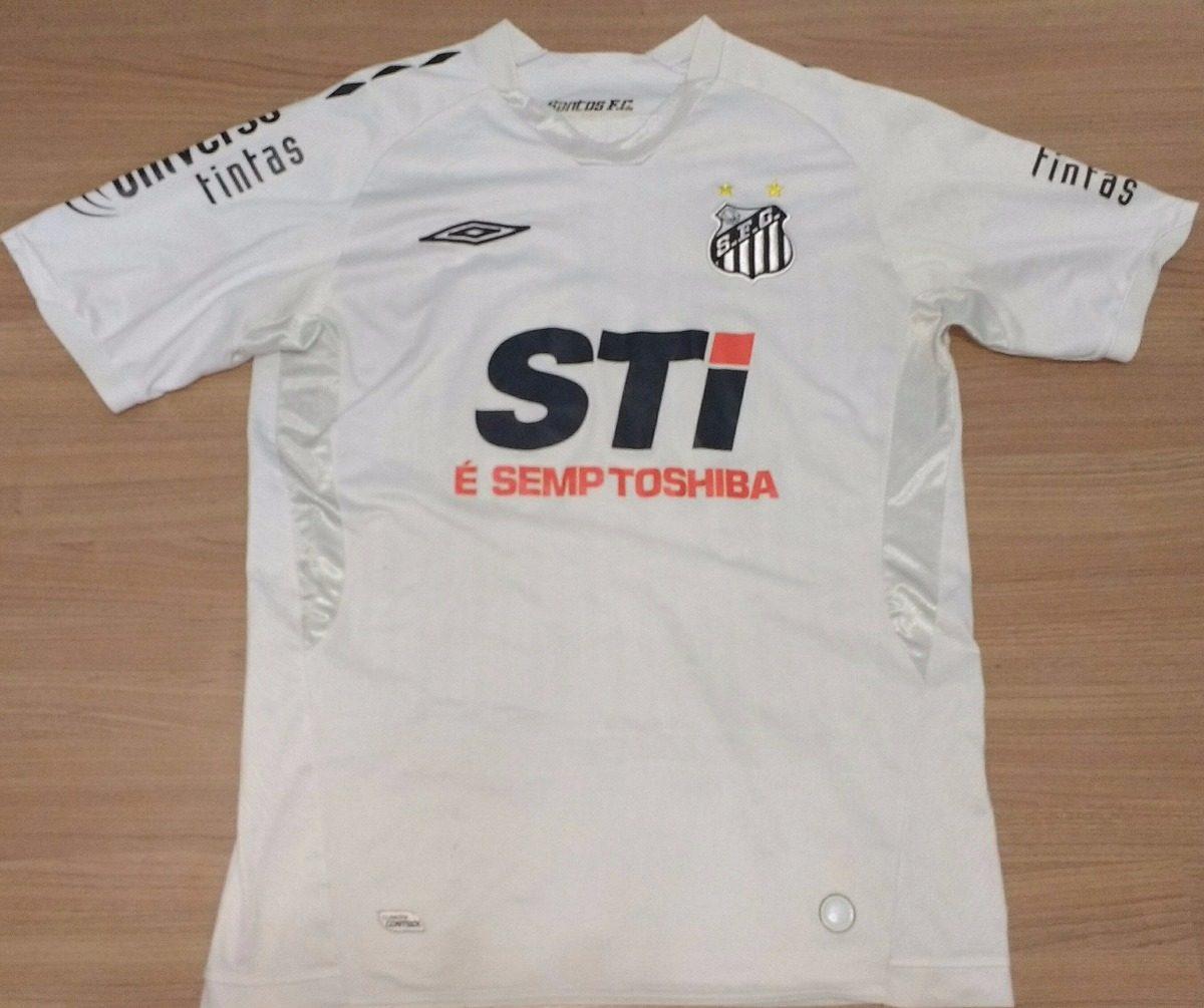 155ff73f10ea4 camisa santos 100% original umbro 2009 semp toshiba - 01. Carregando zoom.