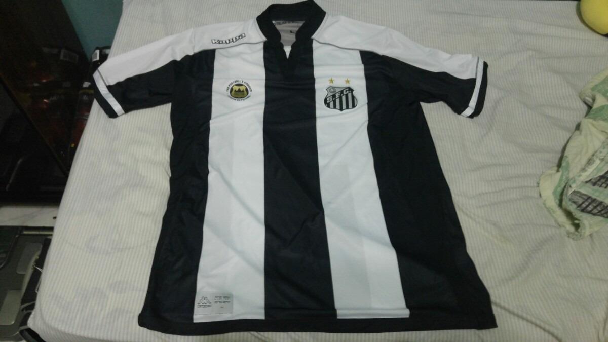 Camisa Santos 2016 Kappa Gg  11 Elano Nova Frete Gratis - R  150 918d27804857c