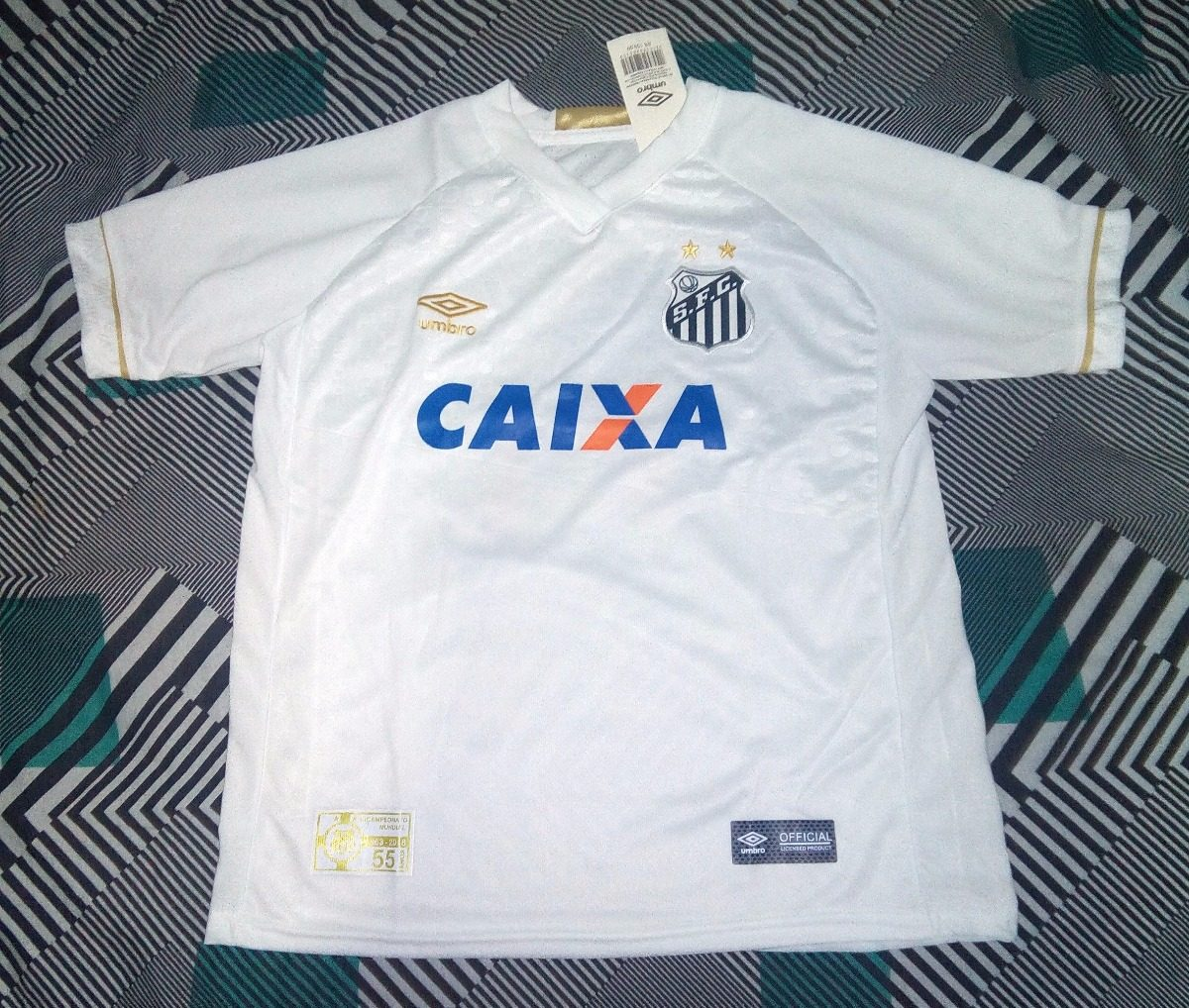 camisa santos 2018 - 2019 supporter torcedor infantil. Carregando zoom. f443fcc3c7c2a