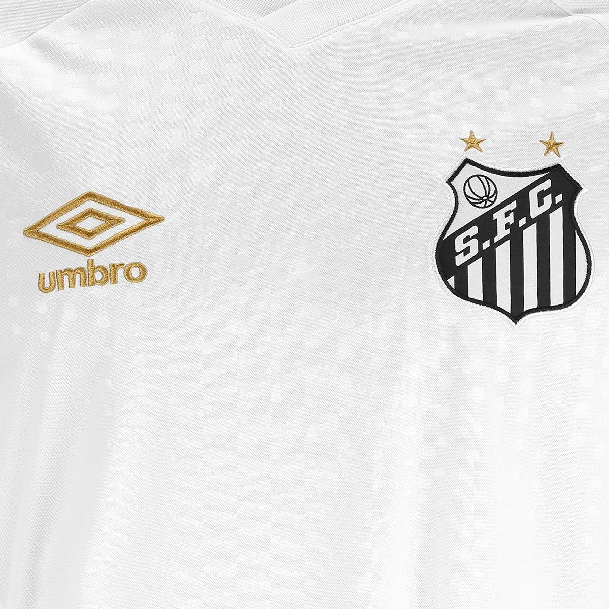 Camisa Santos 2018 S n° Oficial Torcedor Umbro Masculina - R  139 41c52bf6b7d36