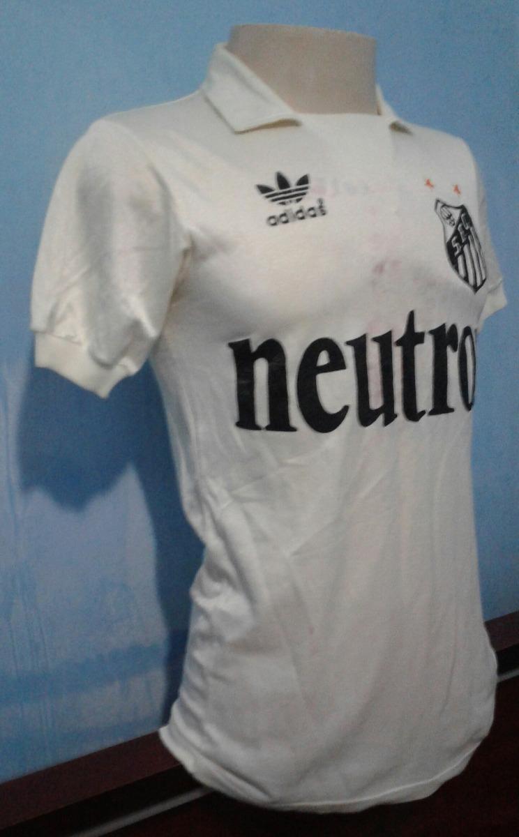 camisa santos adidas 1984-1985 neutrox de jogo. Carregando zoom. 5cdd0d0e93972