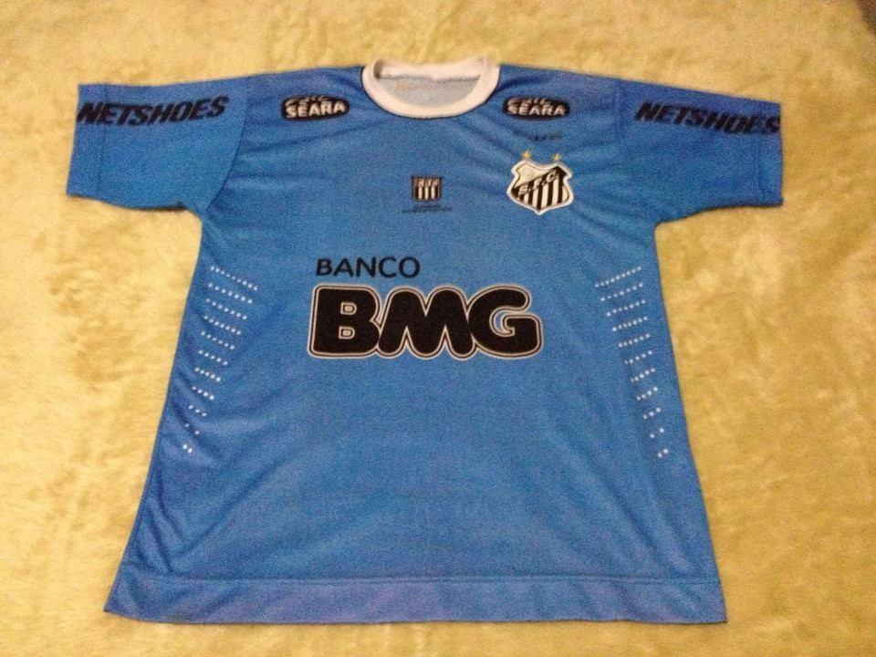 camisa santos bmg 2012 neymar jr 11 marabraz dry fit. Carregando zoom. 41fc4c8f12ccb
