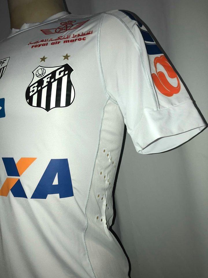 588c82b1f5 camisa santos brasileirão 2017 de jogo kappa  21. Carregando zoom.