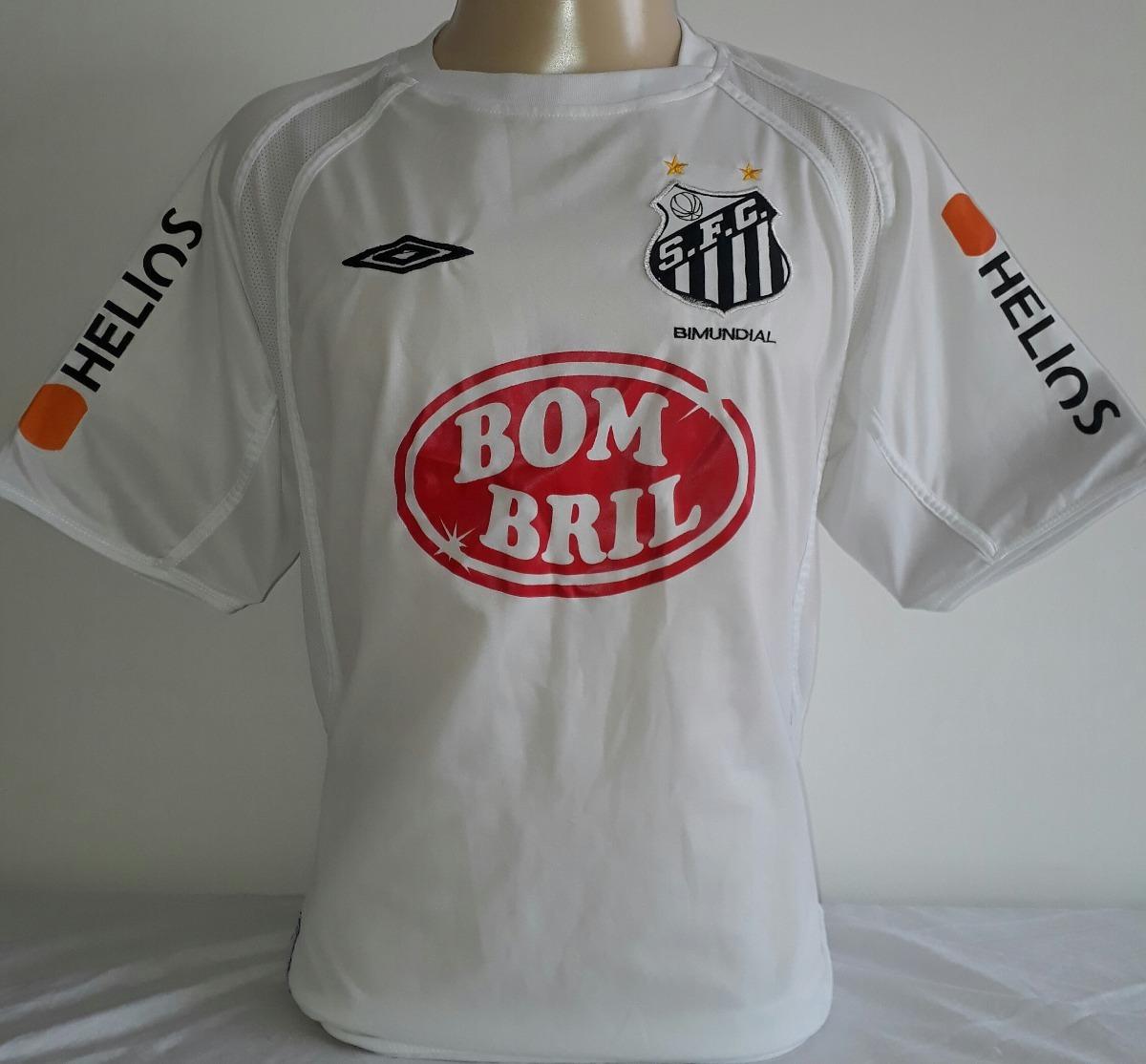 fa4abc0876099 camisa santos campeão brasileiro de 2004 umbro bombril - 17. Carregando  zoom.